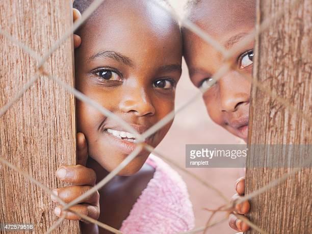 Curious African Children