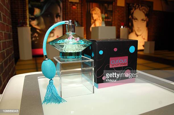Curious by Elizabeth Arden during Britney Spears Celebrates Fragrance Success with Elizabeth Arden May 8 2006 at Hudson Hotel in New York City New...