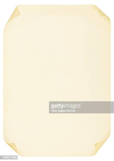 Curled A4 papier (images haute résolution
