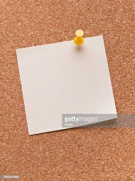 Curled adhesive note