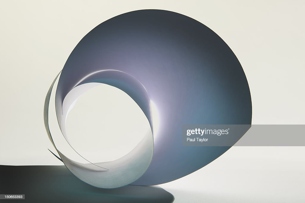 Curled Pieces of Paper : Stock Photo