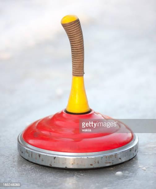 curling-stock-sport-Eisstockschießen Nahaufnahme