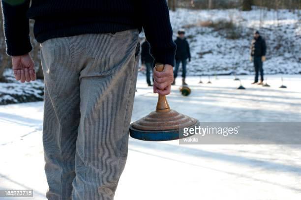 curling-stock-sport-Eisstockschießen tournament