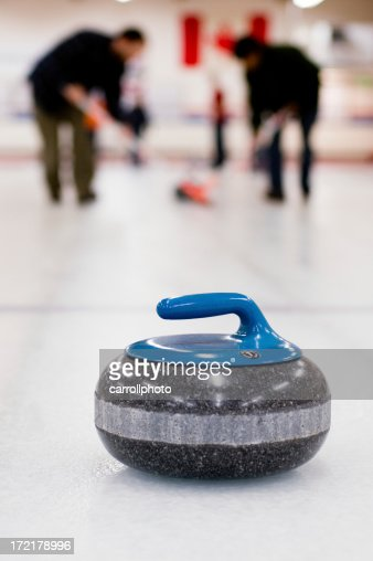 Curling Team in Action