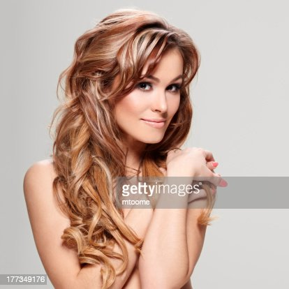Curly hair : Stock Photo