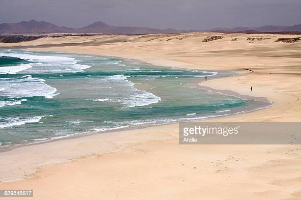 Curralinho Beach on Boa Vista one of the most beautiful beaches in the world Cape Verde