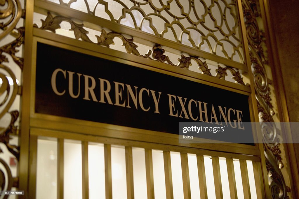 Currency exchange window