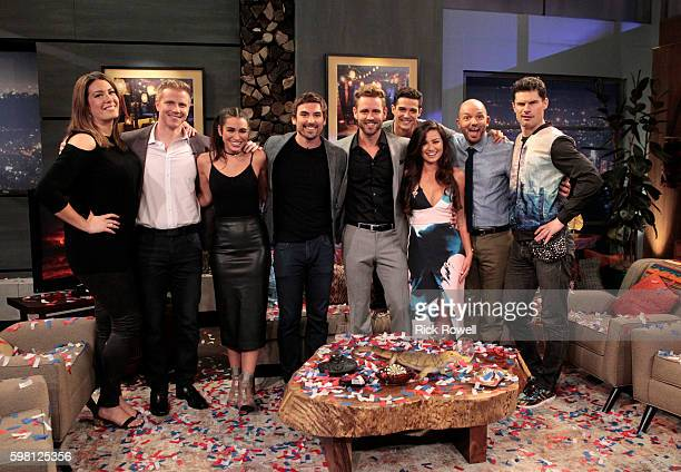 PARADISE Current 'Bachelor in Paradise' contestants Wells Caila and Jared as well as Paul Scheer and Flula Borg are panelists on ABC's hit aftershow...