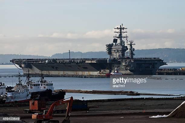 Current News: USS Nimitz Returns To Everett 12-16-13