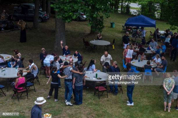 Current residents alumni their family and supporters gather for a reunion picnic on Saturday June 17 in Bowie MD Champ House is an allvolunteer...