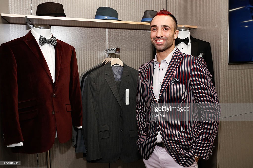 Ê Current WBA Welterweight Champion Paulie Malignaggi attends Perry Ellis International celebration of the opening of its new NYC Headquarters at The Hippodrome Building on June 11, 2013 in New York City.Ê