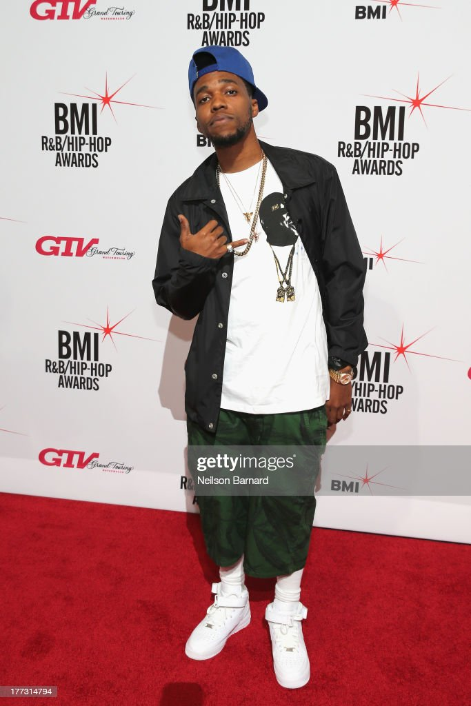 Curren$y attends the 2013 BMI R&B/Hip-Hop Awards at Hammerstein Ballroom on August 22, 2013 in New York City.