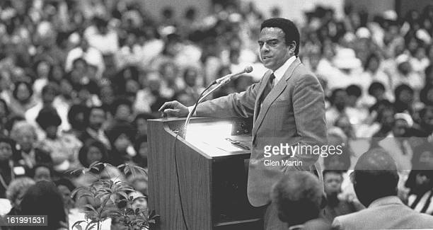 JUN 14 1985 Currigan Hall Andrew Young Mayor of Atlanta Georgia
