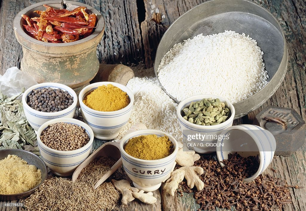 Curry or masala blend of spices India