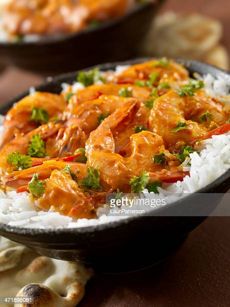 Curry Shrimp Rice Bowl