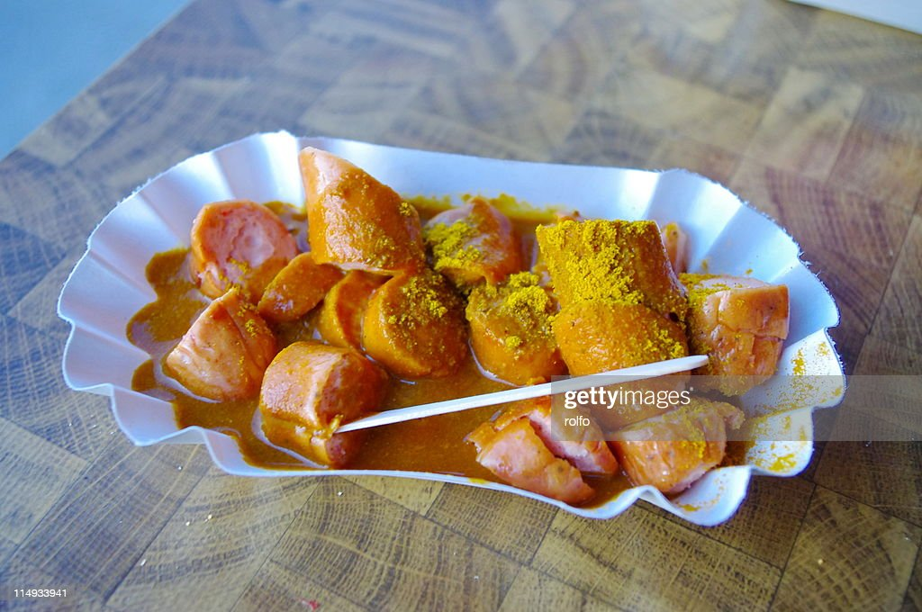 Currywurst : Stock Photo