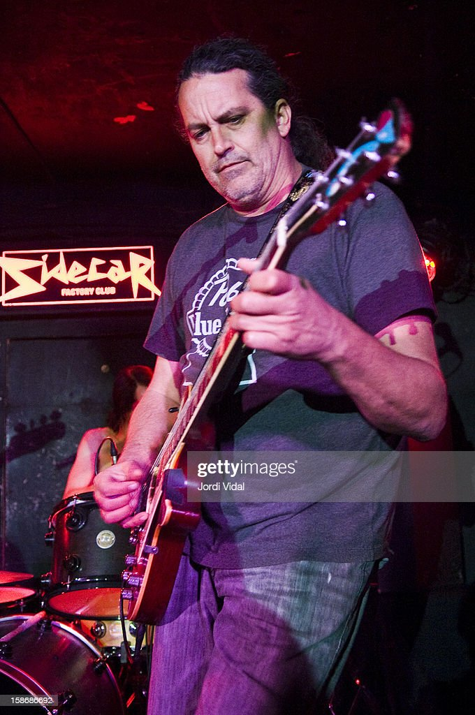 Curt Kirkwood of Meat Puppets performs at Sidecar on December 23, 2012 in Barcelona, Spain.