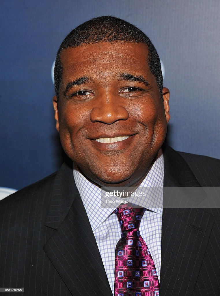 Curt Menefee attends the 2013 Fox Sports Media Group Upfront after party at Roseland Ballroom on March 5, 2013 in New York City.