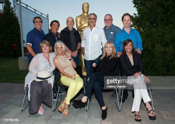 Curt Sobel Nancy Klopper Richard Chew Shera Danese Paul Brickman Jon Avnet Rebecca De Mornay Richard Masur Sarah Partridge and Raphael Sbarge attends...