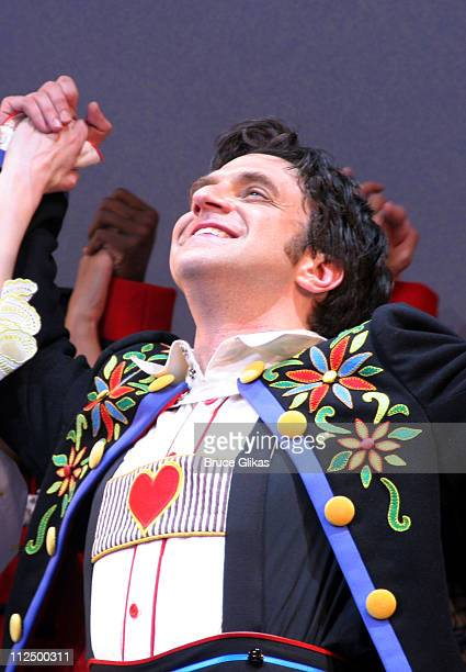 Curtain Call with Raul Esparza during 'Chitty Chitty Bang Bang' Broadway Opening Night Curtain Call at The Hilton Theater in New York City New York...