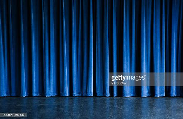 Curtain on stage