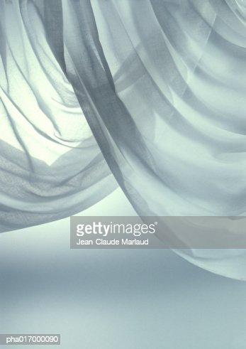 Curtains, close-up