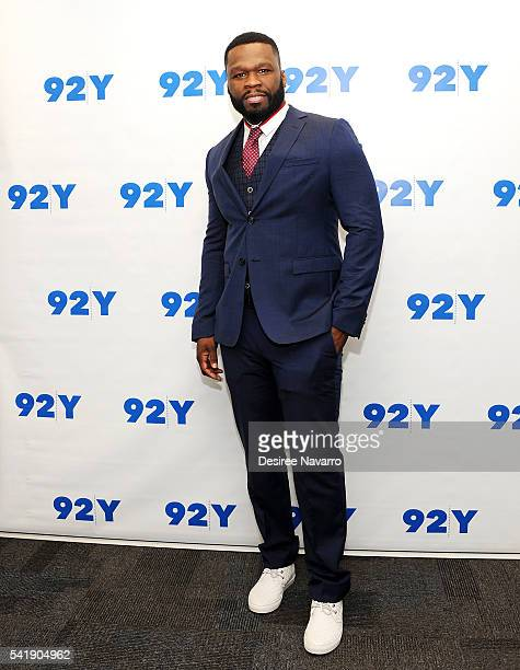 Curtis '50 Cent' Jackson attends 92Y Talks 'Power' Conversation And Screening at 92nd Street Y on June 20 2016 in New York City
