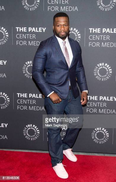 Curtis '50 Cent' Jackson attends An Evening With The Cast And Creative Team Of 'Power' at The Paley Center for Media on July 12 2017 in New York City