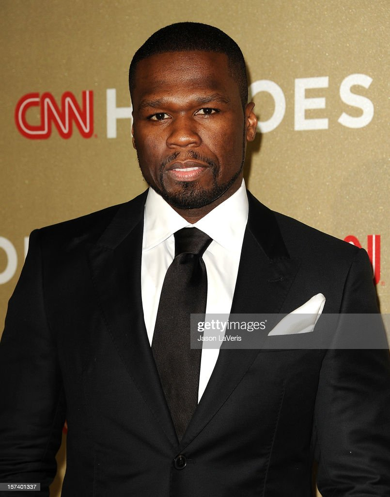 Curtis '50 Cent' Jackson attends CNN Heroes: An All-Star Tribute at The Shrine Auditorium on December 2, 2012 in Los Angeles, California.