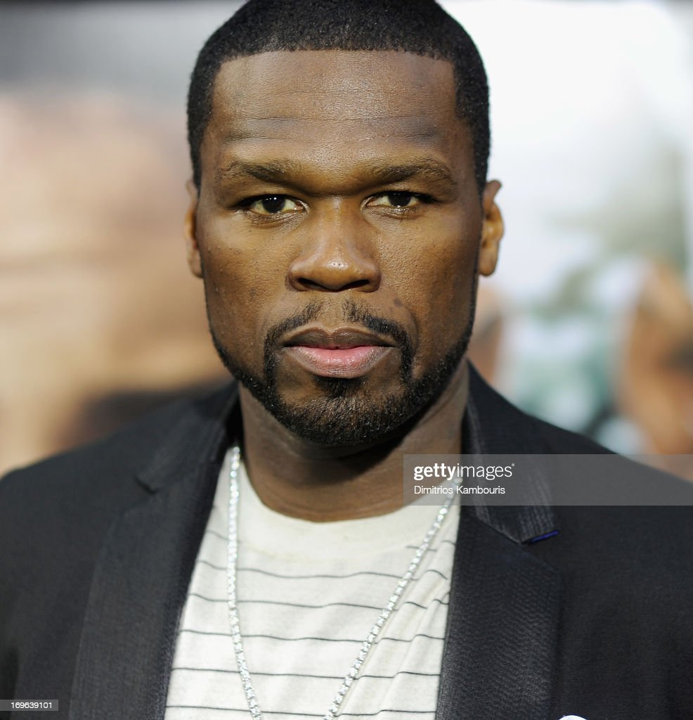 Curtis '<a gi-track='captionPersonalityLinkClicked' href=/galleries/search?phrase=50+Cent+-+Rapper&family=editorial&specificpeople=215363 ng-click='$event.stopPropagation()'>50 Cent</a>' Jackson attends the 'After Earth' premiere at the Ziegfeld Theater on May 29, 2013 in New York City.