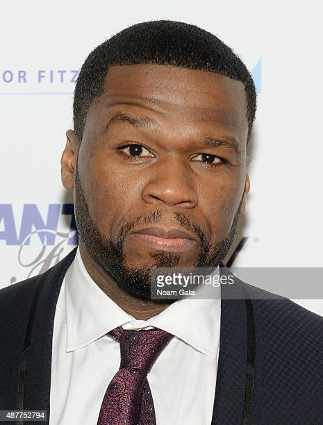 Curtis '50 Cent' Jackson attends the annual Charity Day hosted by Cantor Fitzgerald and BGC at Cantor Fitzgerald on September 11 2015 in New York City