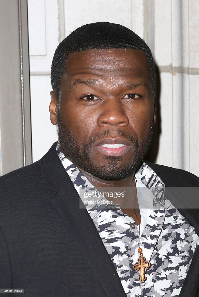 Curtis '50 Cent' Jackson attends the Broadway Opening Night Performance of The Manhattan Theatre Club's production of 'Constellations' at the Samuel...
