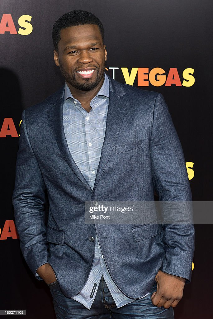 Curtis '<a gi-track='captionPersonalityLinkClicked' href=/galleries/search?phrase=50+Cent+-+Rapper&family=editorial&specificpeople=215363 ng-click='$event.stopPropagation()'>50 Cent</a>' Jackson attends the 'Last Vegas' premiere at the Ziegfeld Theater on October 29, 2013 in New York City.