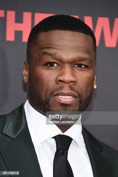 Curtis '50 Cent' Jackson attends the New York premiere of 'Southpaw' for THE WRAP at AMC Loews Lincoln Square on July 20 2015 in New York City