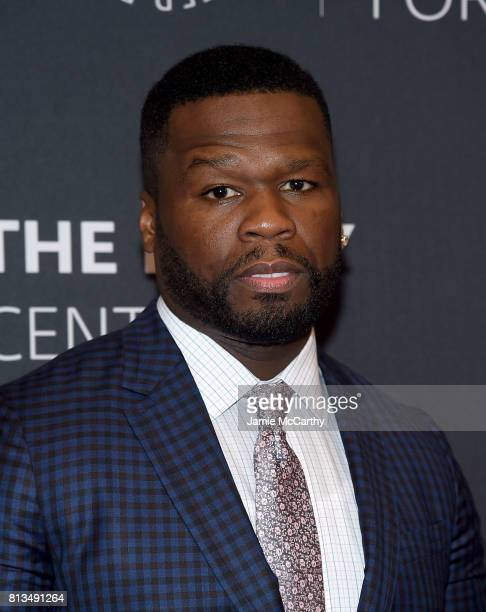 Curtis '50 Cent' Jackson attends the PaleyLive NY Presents An Evening With The Cast And Creative Team Of 'Power' at The Paley Center for Media on...