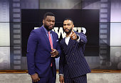 AMERICA Curtis '50 Cent' Jackson Omari Hardwick are guests on 'Good Morning America' 7/5/16 airing on the ABC Television Network CURTIS '50 CENT'...