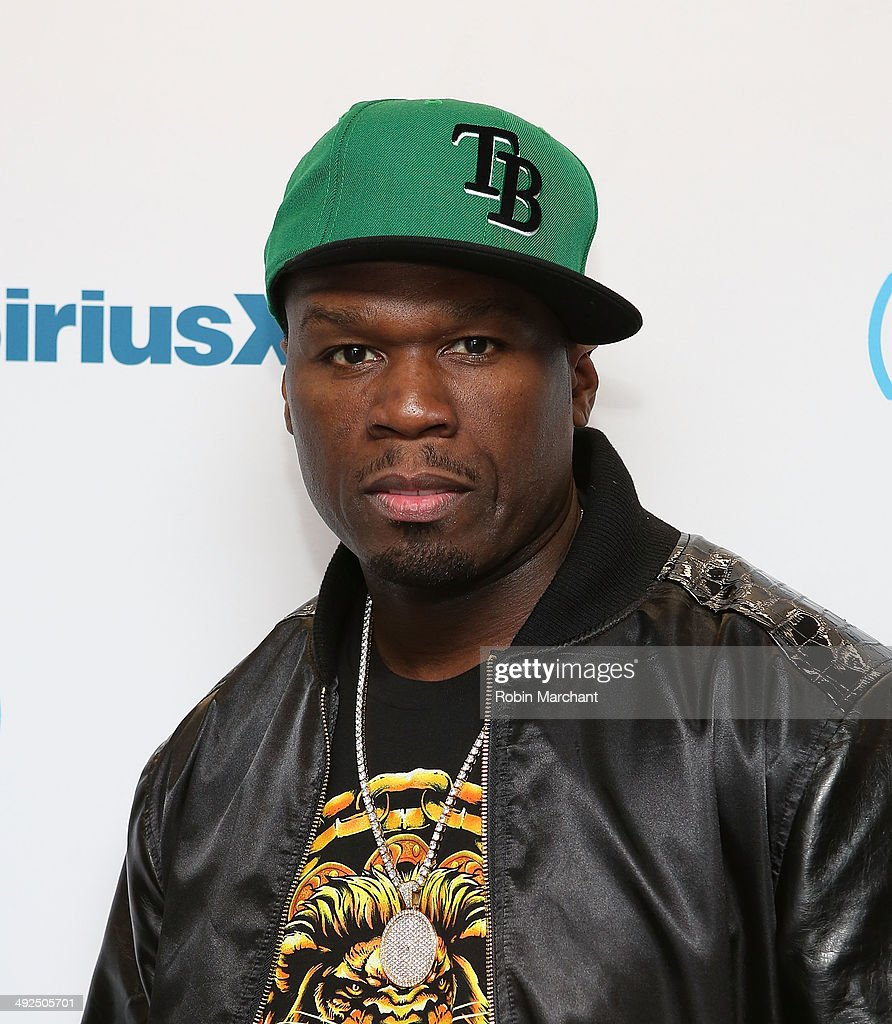 Curtis '50 Cent' Jackson visits at SiriusXM Studios on May 20, 2014 in New York City.