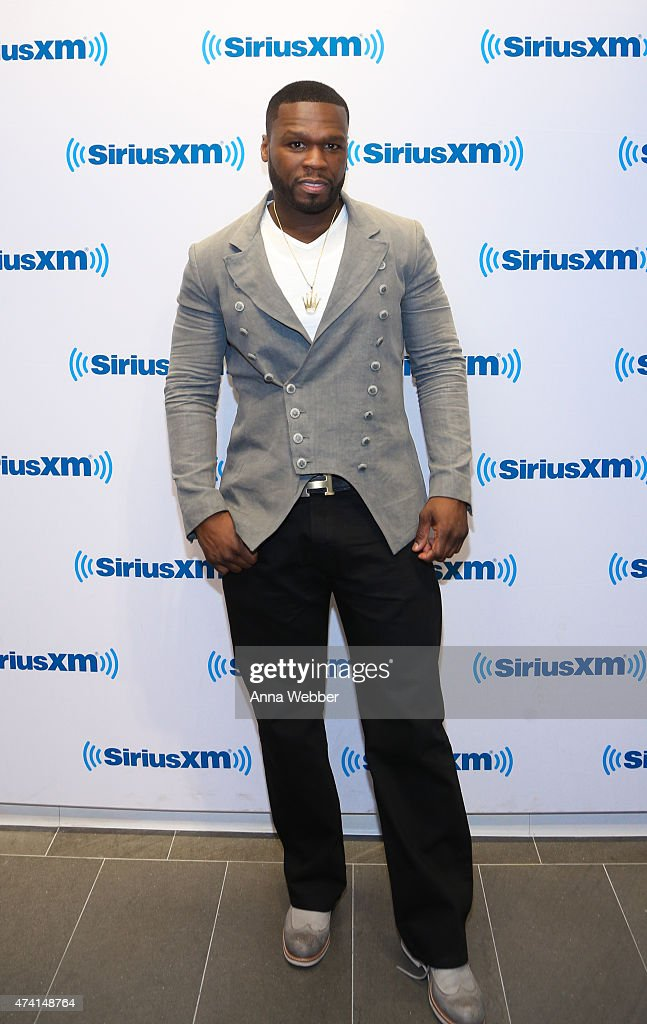 Curtis '<a gi-track='captionPersonalityLinkClicked' href=/galleries/search?phrase=50+Cent+-+Rapper&family=editorial&specificpeople=215363 ng-click='$event.stopPropagation()'>50 Cent</a>' Jackson visits SiriusXM Studios on May 20, 2015 in New York City.