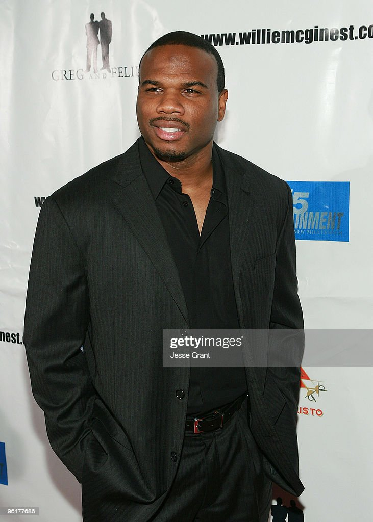Curtis Conway attends the First Annual Super Bowl PreParty Hosted by Willie McGinest at Capitol City on February 6 2010 in Los Angeles California