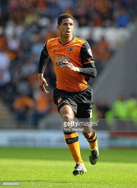 Curtis Davies of Hull City during the Sky Bet Championship match between Hull City and Huddersfield Town at KC Stadium on August 8 2015 in Hull...