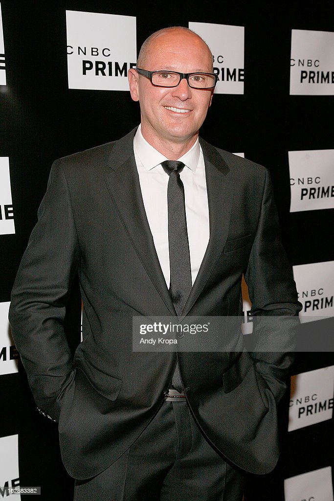 Curtis Dowling attends the CNBC Prime Premiere Launch at Classic Car Club on February 28, 2013 in New York City.