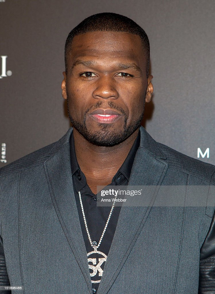 Curtis 'Fifty Cent' Jackson arrives to Us Weekly's 25 Most Stylish New Yorkers Event at STK Midtown on September 12, 2012 in New York City.