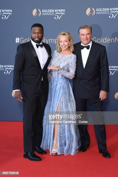 Curtis Jackson aka '50 Cent' Camilla de Bourbon des Deux Siciles and Charles de Bourbon des Deux Siciles attend the Closing Ceremony of the 57th...
