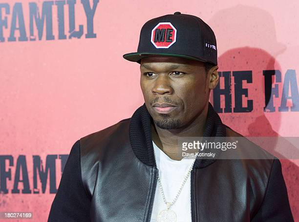Curtis Jackson attends 'The Family' World Premiere at AMC Lincoln Square Theater on September 10 2013 in New York City