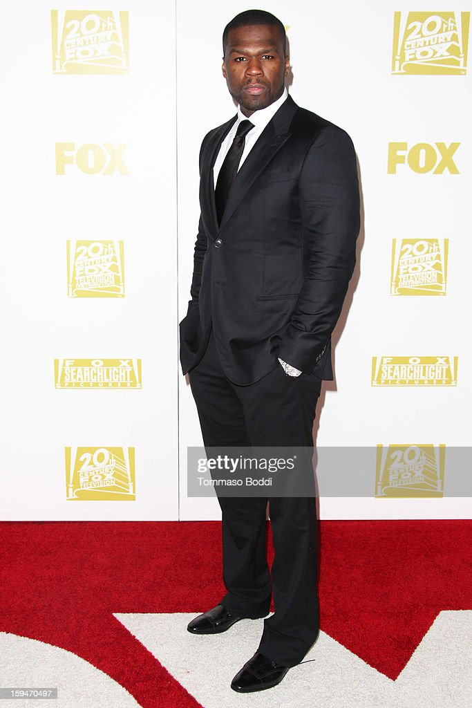 Curtis Jackson attends the FOX Golden Globe after party held at the FOX Pavilion at the Golden Globes on January 13, 2013 in Beverly Hills, California.