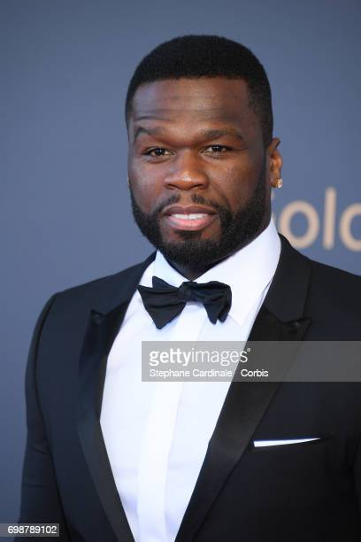 Curtis James Jackson III aka 50 Cent attends the Closing Ceremony of the 57th Monte Carlo TV Festival on June 20 2017 in MonteCarlo Monaco