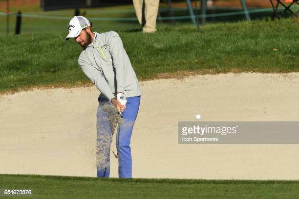 Curtis Luck during the second round of the Arnold Palmer Invitational on March 17 at Arnold Palmer's Bay Hill Club Lodge in Orlando Florida