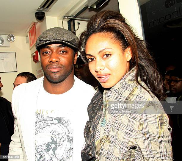 Curtis Martin and Shakira during Kelis Throws Nas a Surprise Birthday Party with a Special Performance September 13 2006 at Canal Room in New York...