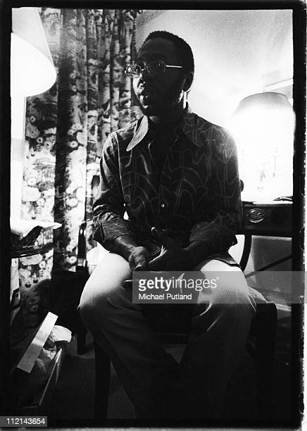 Curtis Mayfield portrait London 26th January 1972