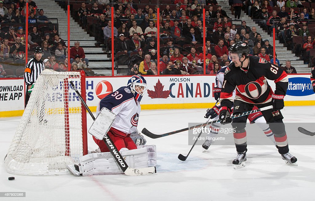 Columbus Blue Jackets v Ottawa Senators Photos and Images | Getty ...